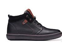 Мужские зимние ботинки Flotar Leather Shoes  натур кожа