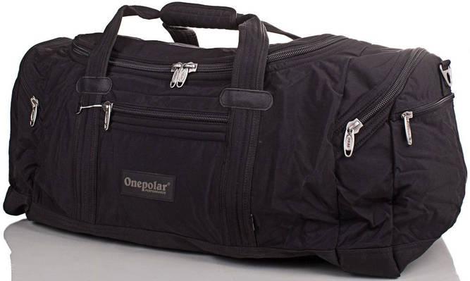 Сумка для тренировок Onepolar (Ванполар) WA808-black, 65 литров
