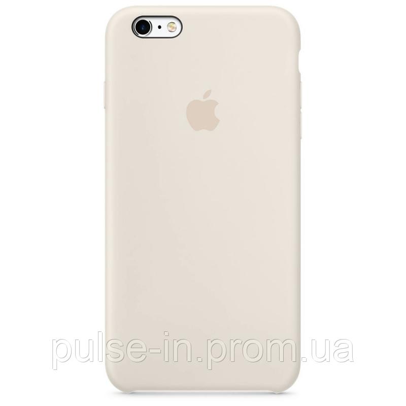 Чехол qCase Apple Silicone Case для iPhone 5/5s/SE Antique White