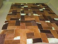 Красивый кожаный ковер из шкуры южноамериканского буйвола