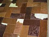 Красивый кожаный ковер из шкуры южноамериканского буйвола, фото 2