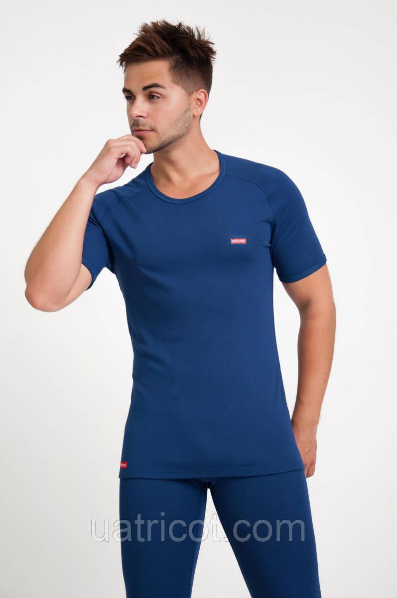 Термофутболка мужская ФМ-633  Vortex Activ Comfort синяя