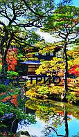 Настенный инфракрасный обогреватель Японский сад/сад Киото
