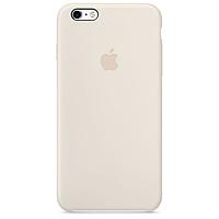 Чехол qCase Apple Silicone Case для iPhone 6 Plus/6s Plus Antique White