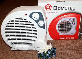 Тепловентилятор Domotec DT-3200 обогреватель, фото 2