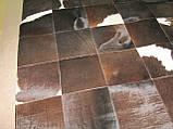 Килим темно-шоколадного кольору з небольшм вкрапленням білого кольору, фото 2