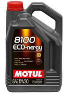 Масло MOTUL 5W30 ECO-nergy 8100 (5L) (WSS M2C 913D/RN0700/STJLR.03.5003) (102898) 812306