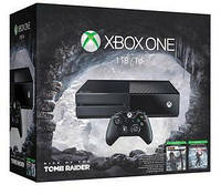 Игровая приставка Xbox One 1 Tb Bundle (Rise of the Tomb Raider + Tomb Raider Definitive Edition) (Б/У)