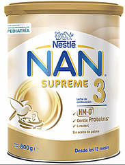 Смесь Nestle NAN SUPREME (НАН Сюпрем ) 3- 800г с 12 мес