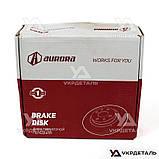 Тормозные диски ВАЗ 2110, 2111, 2112, 2170, 2171, 2172 Приора (d=14', от 2 шт) | AURORA (Польша), фото 3