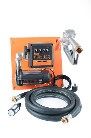 Beta AC-45 – стационарная мини колонка для заправки техники топливом.  Питание 220 В. Продуктивность 45 л/мин
