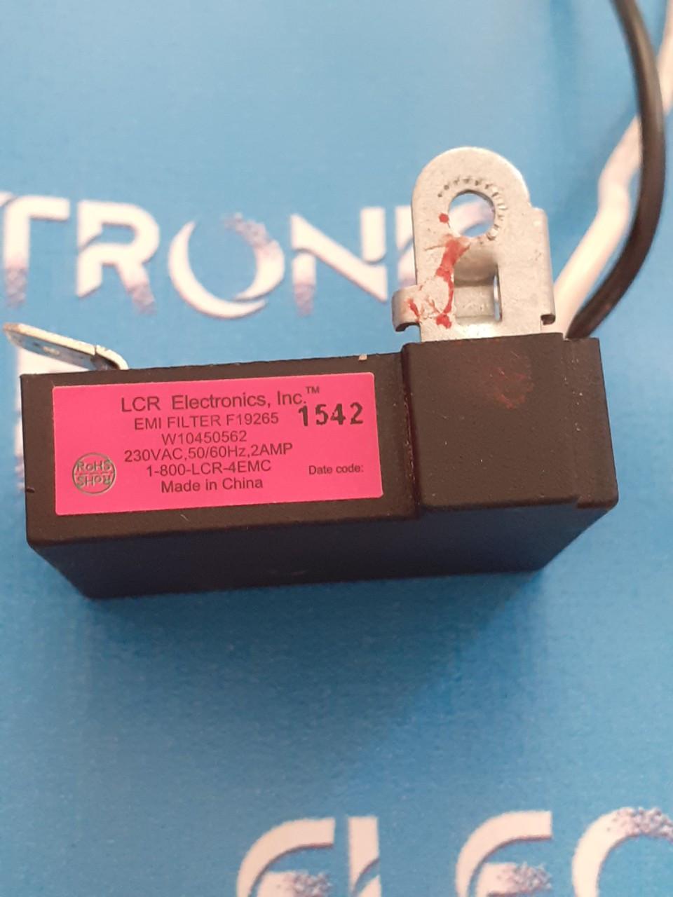Пусковой конденсатор 1-800-LCR-4EMC миксера Kitchenaid 5KHM9212EAC оригинал