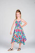 Детское платье для девочки Pezzo D'oro Италия K54047 Мультиколор