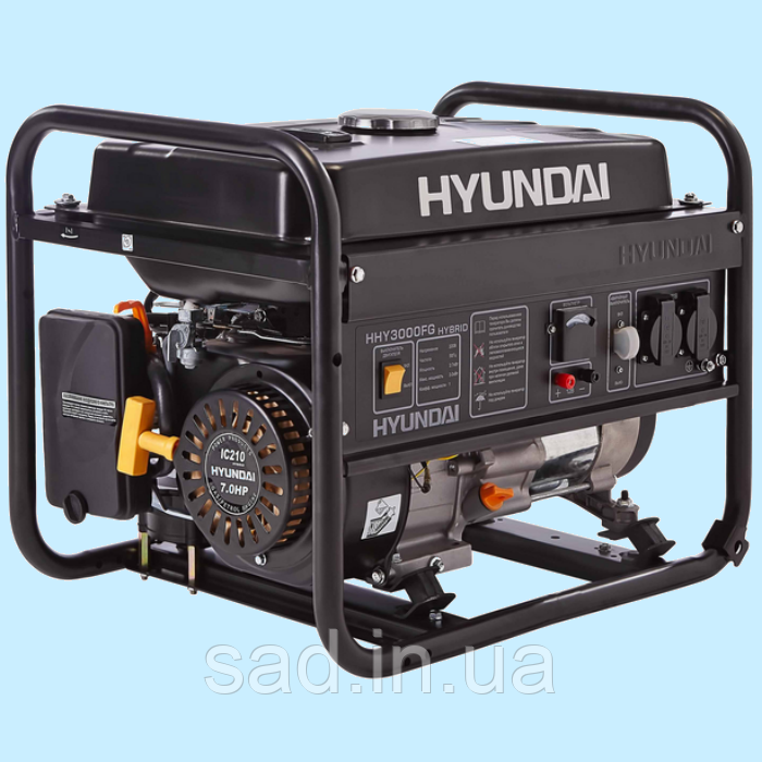 генераторы hyundai, электростанции hyundai казакстан