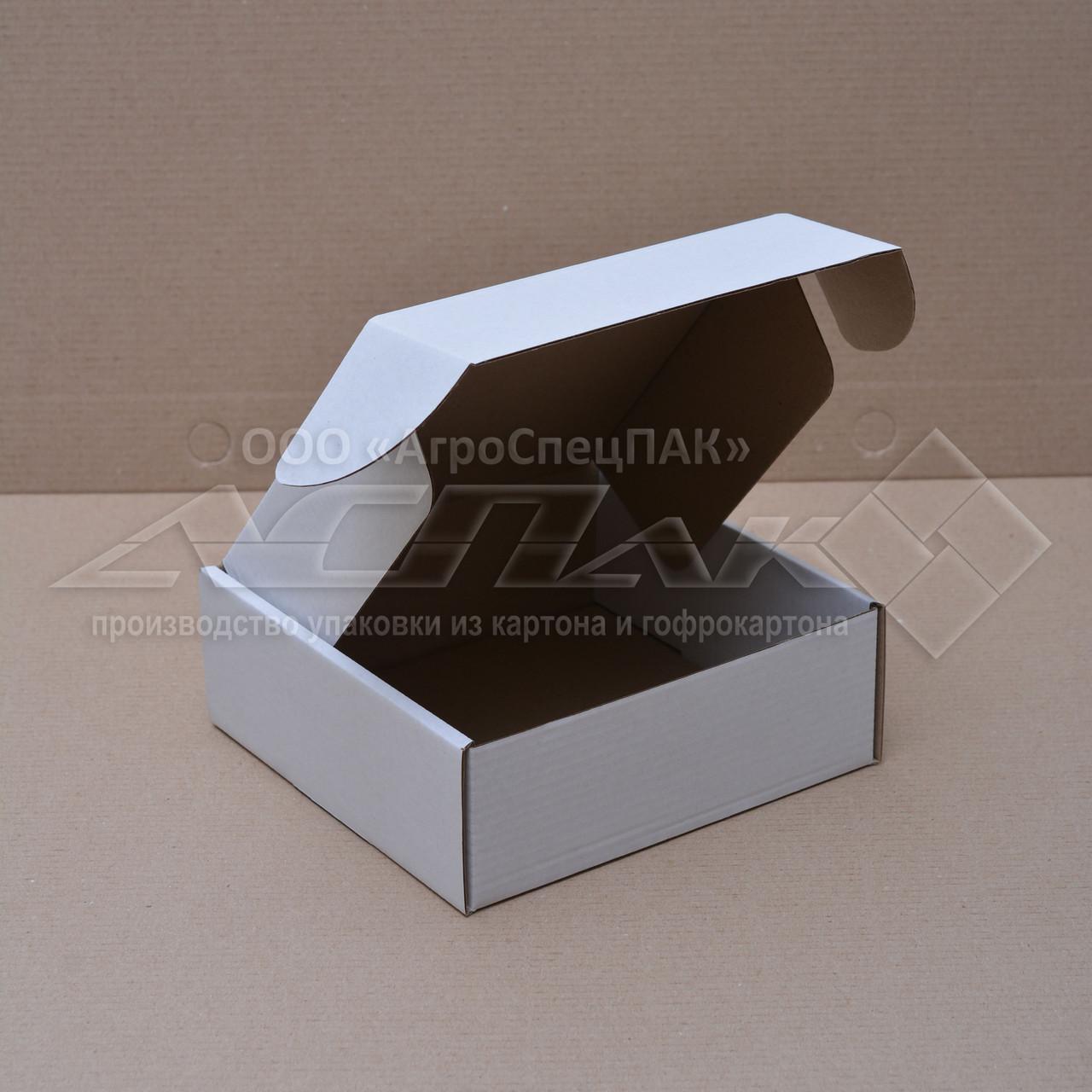 Картонные коробки 150*150*55 белые