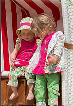 Детские шорты для девочки Pezzo D'oro Италия M52041 Зеленый