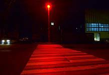 Светодиодный линзованый прожектор PREMIUM LEON SL-50RLens 50W красный IP65 Код.59638, фото 3