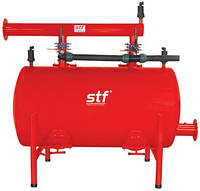 """Фильтростанции для систем полива ПГ двухкамерный Купить 6"""" 160 м3/ч STF, фильтрационное оборудование"""