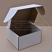 Картонные коробки 150*150*90 белые
