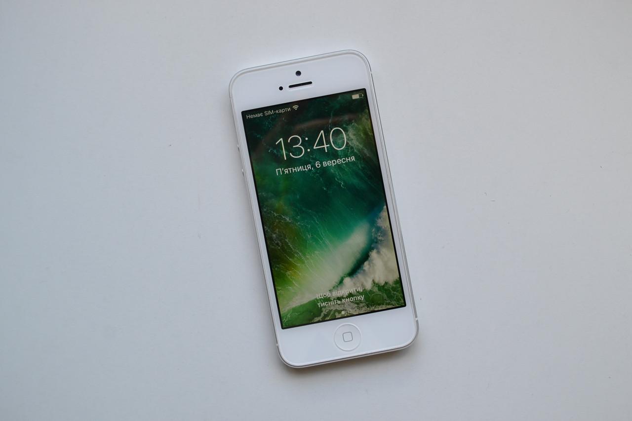 Apple Iphone 5 16Gb White Neverlock Оригинал!