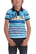 Детская футболка для мальчика Desigual Испания 40L3707 Голубой