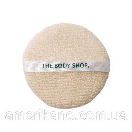 Спонж для лица The body shop пилинг скраб очищение