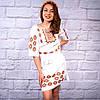 """Женское  платье с вышивкой """"Янтарь"""", фото 2"""