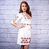 """Женское  платье с вышивкой """"Янтарь"""", фото 4"""