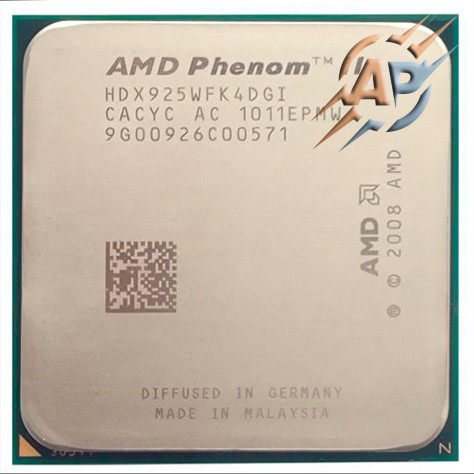 Процессор AMD Phenom II X4 925 2.8GHz 2000MHz (HDX925WFK4DGI) Socket AM2+/AM3 95W
