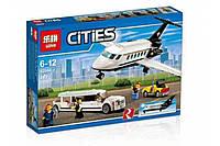 "Конструктор Lepin 02044 ""Служба аэропорта для VIP-клиентов"" 393 деталей. Аналог LEGO City 60102, фото 1"
