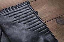 Мужские кожаные перчатки  1-935s2, фото 3