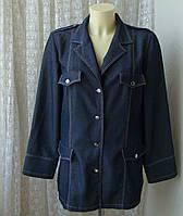 Пиджак женский жакет легкий бренд Un Jour Ailleurs р.48-50, фото 1