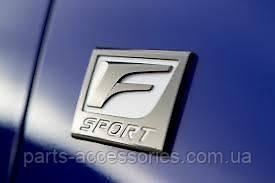 Lexus CT200H Эмблема значок F F-Sport на крыло правый новый оригинал