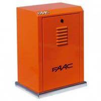 FAAC 884МС Электромеханический трехфазный редукторный двигатель для откатных ворот с массой створки до 3500 кг