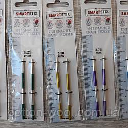 Зйомні укорочені кругові спиці KnitPro SmartStix 3.5