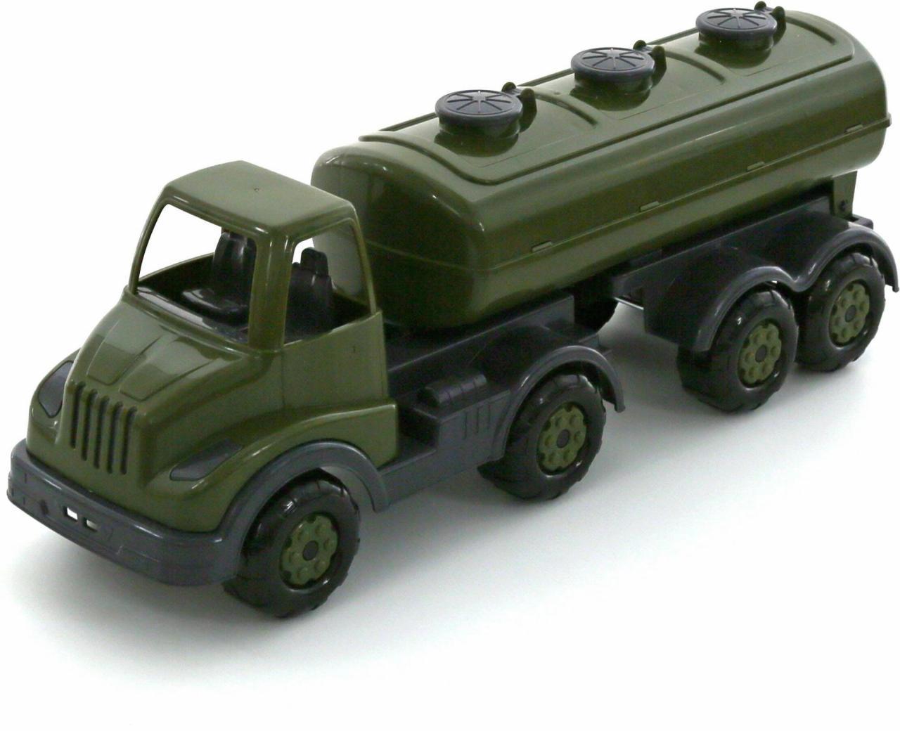 """Автомобиль Polesie """"Муромец"""", военный с полуприцепом-цистерной, 49117"""