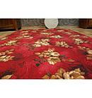 Ковер Лущув WILSTAR 200x100 см красный прямоугольный (X067), фото 4
