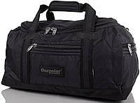 Спортивная качественная сумка, дорожная 45 л. Onepolar WA809-black черная