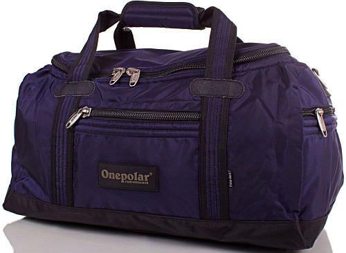 Удобная сумка, дорожная из полиэстера 45 л. Onepolar WA809-navy