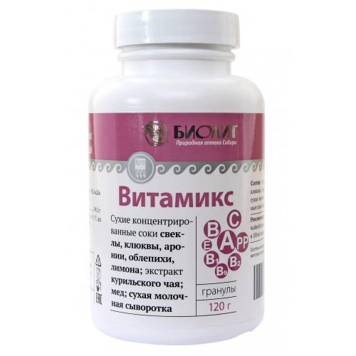 Витамикс Арго, витамины, минералы, микроэлементы, укрепляет иммунитет, дисбактериоз, обмен веществ, холестерин