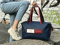 Спортивная сумка Tommy Hilfiger, синяя