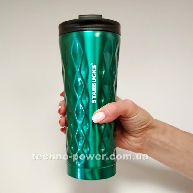 Термокружка 500 ml Starbucks Diamond Waves