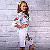 """Женское  платье с вышивкой """"Цветочный сад"""", фото 2"""
