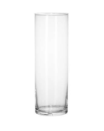 Ваза цилиндр 38,5 см Mazhura Vial X022, фото 2