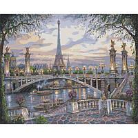 Картина по номерам Удивительный Париж