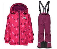 Зимний комбинезонLEGOWear(Дания) для девочки 104, 110, 116 мембранный раздельный розовый