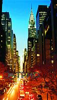 Настенные пленочные обогреватели ТРИО Манхэттен (ночной город), фото 1