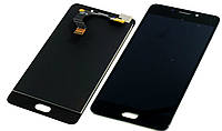 Дисплей для мобильного телефона Meizu M6 Note черный / с тачскрином
