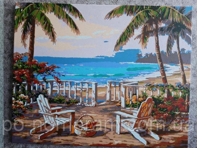 Пляж Анатолии картина по номерам