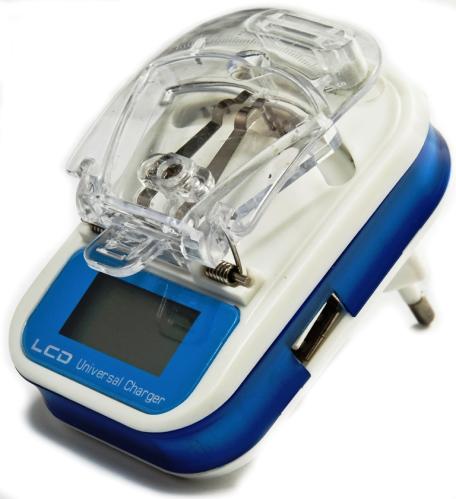 Лягушка для аккумуляторов с LCD экраном (крабик\Жабка\лягушка)